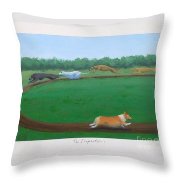 The Impostor I Throw Pillow