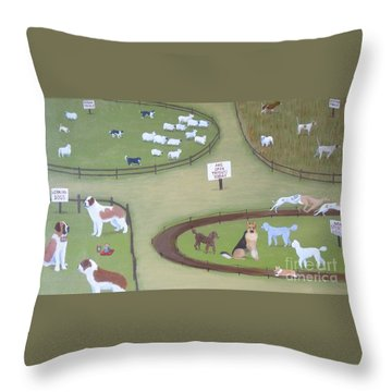 The Impostors Throw Pillow