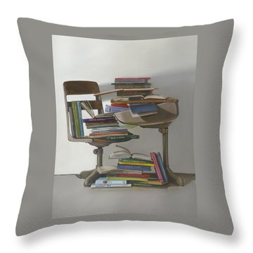 The Incredible Journey Throw Pillow by Gail Chandler