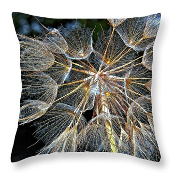 The Inner Weed Throw Pillow