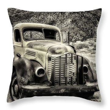 The International Harvester Kb-7  Throw Pillow