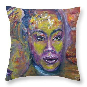 The Interpretation Throw Pillow