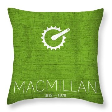 The Inventors Series 025 Macmillan Throw Pillow