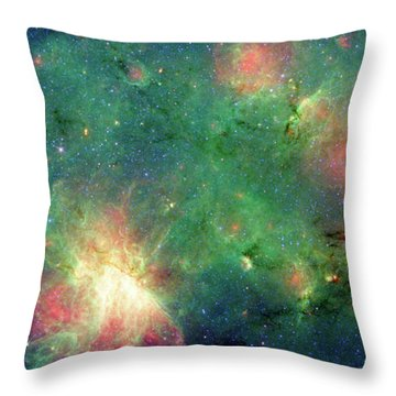 Throw Pillow featuring the photograph The Invisible Dragon by NASA JPL-Caltech