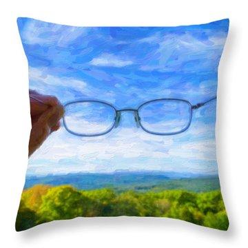 Optometrist Throw Pillows