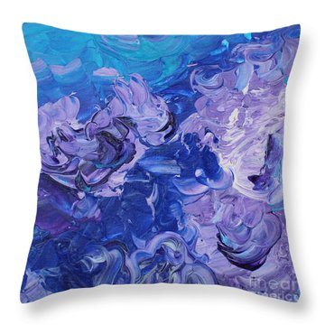 The Invisible Woman Throw Pillow