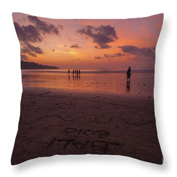 The Island Of God #15 Throw Pillow