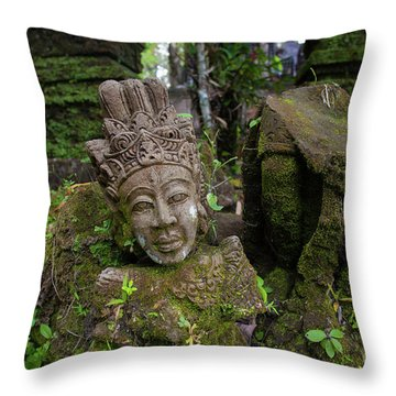 The Island Of God #3 Throw Pillow