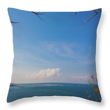 The Island Of God #5 Throw Pillow
