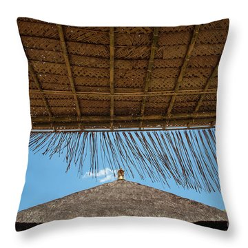 The Island Of God #6 Throw Pillow