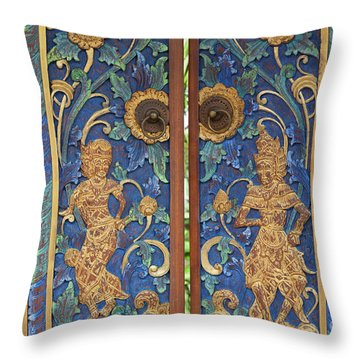 The Island Of God #7 Throw Pillow