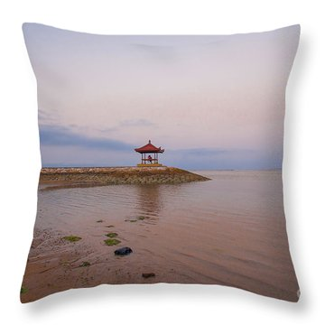 The Island Of God #9 Throw Pillow