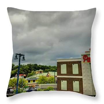 The Island Pigeon Forge Tn Throw Pillow