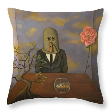 The Isolator Throw Pillow