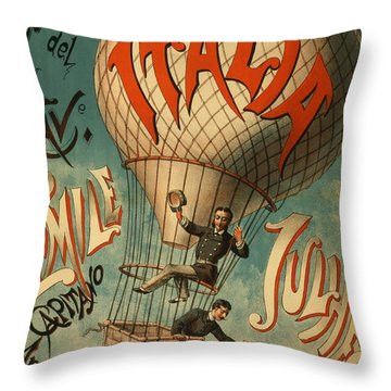 The Italia Ascensione Throw Pillow