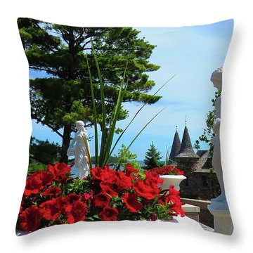 The Italian Garden Throw Pillow