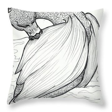 The Itch Throw Pillow