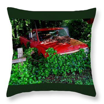 The Ivy Chevy Throw Pillow