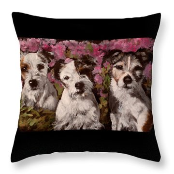 The Jacks 2 Throw Pillow