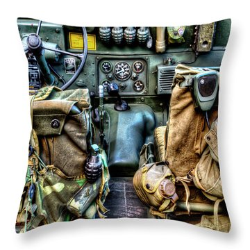 The Jeep 046 Throw Pillow