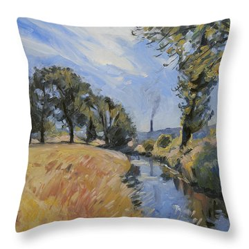 The Jeker And The Enci Throw Pillow