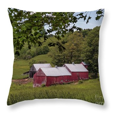 The Jenne Farm II Throw Pillow
