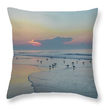 Throw Pillow featuring the photograph The Jersey Shore - Wildwood by Bill Cannon