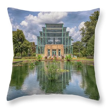 The Jewel Box Throw Pillow