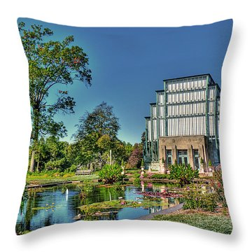 The Jewel Box Throw Pillow by William Fields