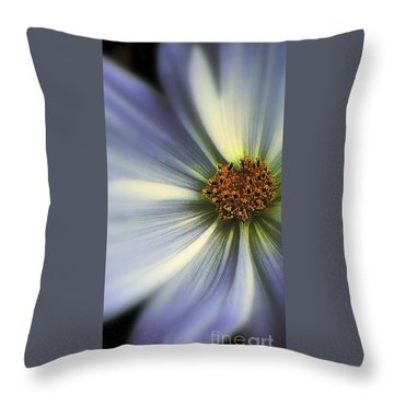 Throw Pillow featuring the photograph The Jewel by Elfriede Fulda