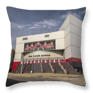The Joe Wide Shot  Throw Pillow