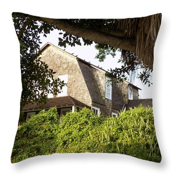 The John Dubois House Throw Pillow