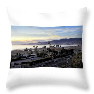 The Jonathan Beach Club Throw Pillow