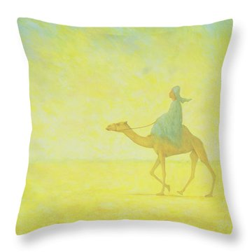 The Journey Throw Pillow by Tilly Willis