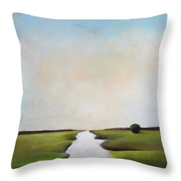 The Journey Throw Pillow by Toni Grote