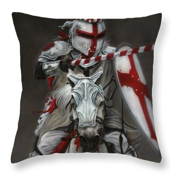 The Joust Throw Pillow