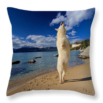 The Joy Of Being Well Loved Throw Pillow