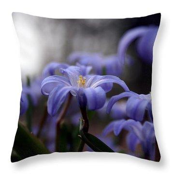 The Joy Of Springtime Throw Pillow