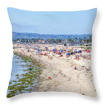 The Joy Of Summer Throw Pillow