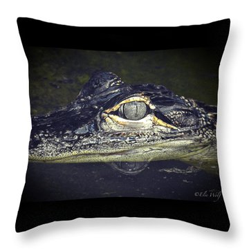 The Juvy Throw Pillow