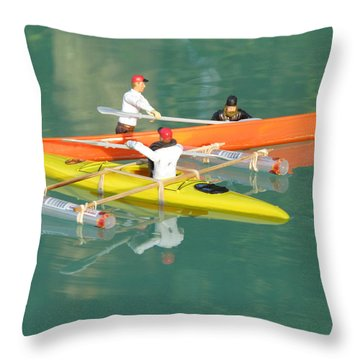The Kayak Team 12 Throw Pillow