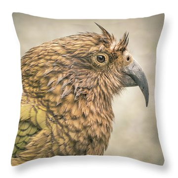 The Kea Throw Pillow