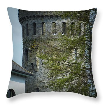 The Keep At Nenagh Castle Ireland Throw Pillow