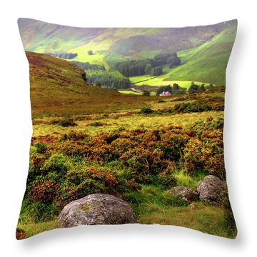 Throw Pillow featuring the photograph The Keeper Of Legends by Jenny Rainbow