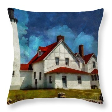 The Keeper's House 2015 Throw Pillow