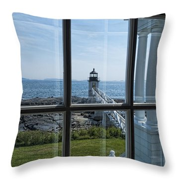 The Keeper's View Throw Pillow