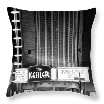The Kessler V2 091516 Bw Throw Pillow