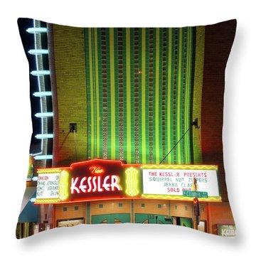 The Kessler V2 091516 Throw Pillow