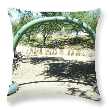 The Kid In You Throw Pillow