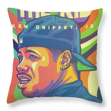 The Kid Throw Pillow